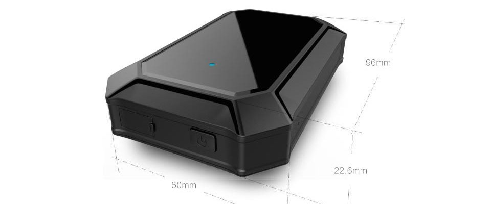 Portable Wireless Gps Car Tracker With Voice Monitoring