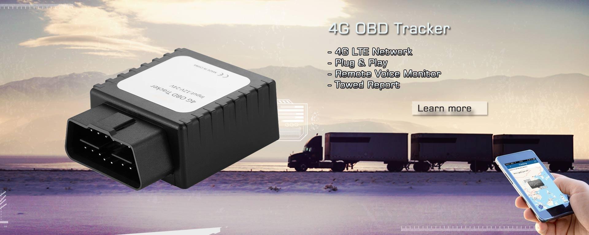 4G OBD GPS tracker