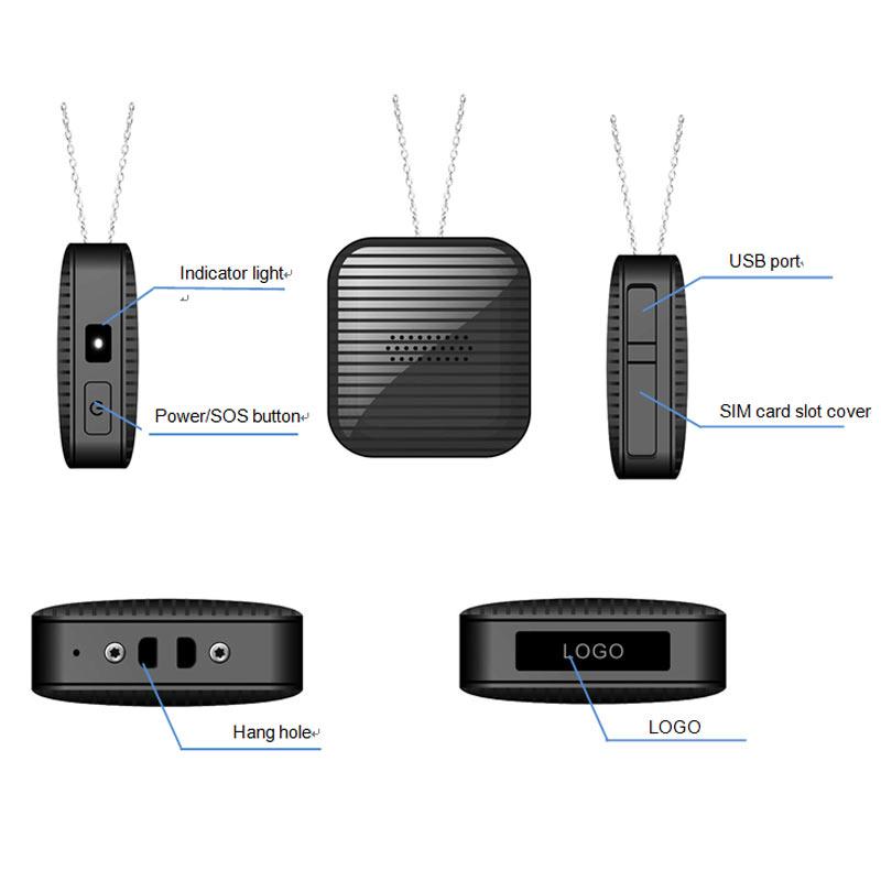 Portable Mini Personal GPS Tracker