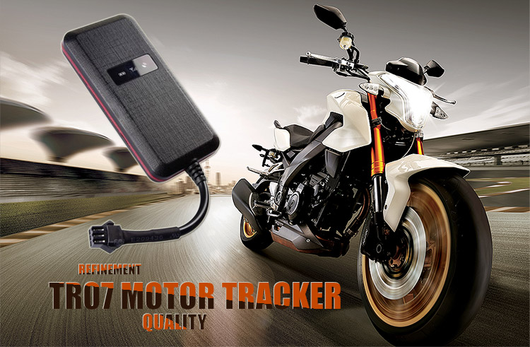 Anti-theft motorcycle gps tracker device