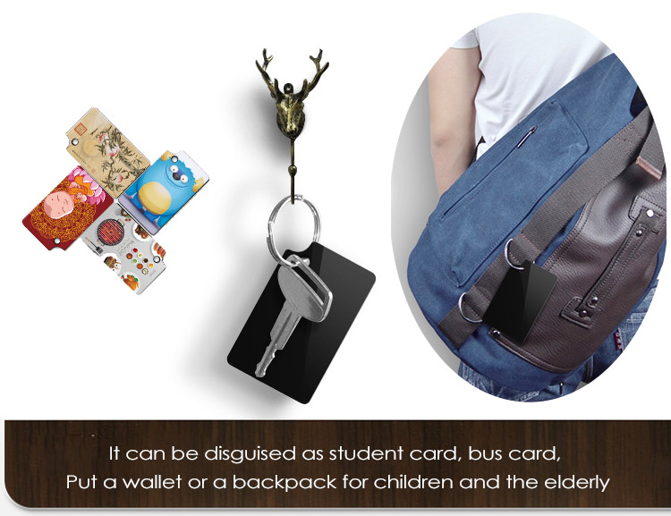 Key chain GPS tracker