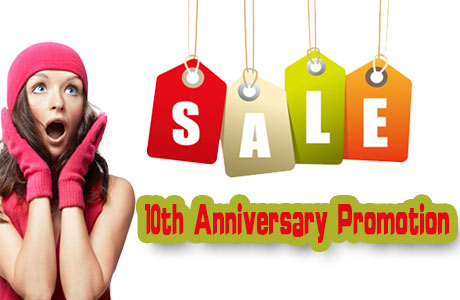 10th Anniversary Promotion of gps tracker