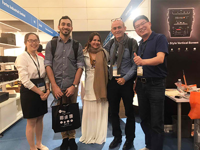 2019 Hongkong automobile gps Electronics Fair successfully