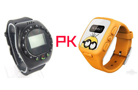 Difference between Kids GPS Watch Tracker and Kids GPS Phone
