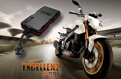 Electric motorcycle GPS tracker anti-theft plan