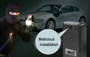 Five Tips for Finding Maliciously Installed Car GPS tracker