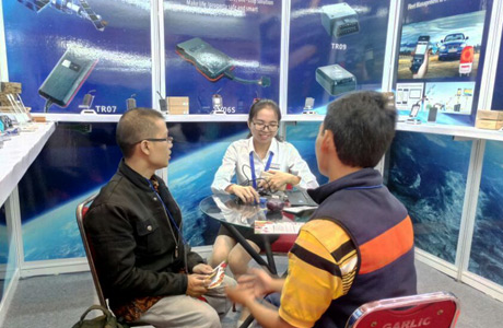 GPS tracker Indonesia Fair complete success