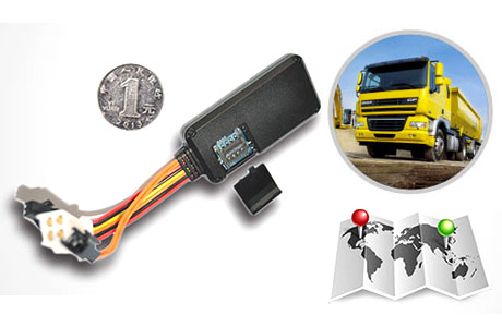 Logistics fleet management GPS tracker case