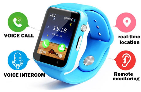 Smart gps watch tracker project