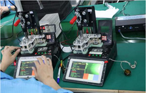 Vehicle GPS tracker factory production process